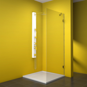 TEIKO sprchová stěna pevná NBS 75 SKLO PRAVÁ 75x187 (V333075R52T80003)