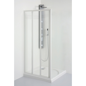 TEIKO sprchové dveře posuvné SD 2/80 CHINCHILLA BÍLÝ 80x185 (V331080N53T32001)