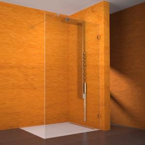 TEIKO sprchová stěna NSSR1 SKLO PRAVÁ 120x100x200 (V334120R52T80003)