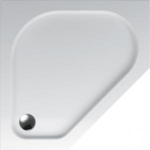Teiko vanička ZEUS 90x90x3,5 bílá, pětiúhelník V136090N32T02001 (V136090N32T02001)