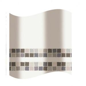 Textilní koupelnový závěs - polyester KD02100851 - 180×180 cm, polyester (KD02100851)