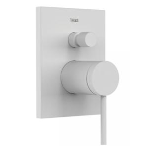 TRES - Baterie MONO-TERM® (dvoucestný)s uzávěrem a regulací průtoku. Včetně podomítkového tělesa (20118001BM)
