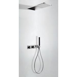 TRES - LOFT COLORS Podomietkový termostatický sprchový set s uzáverom a reguláciou prietoku (20735202NE)