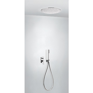TRES - Podomietková sprchová jednopáková set s uzáverom a reguláciou prietoku (21198099)