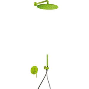 TRES - STUDY COLORS Podomietková sprchový set s uzáverom a reguláciou prietoku (26298091TVE)