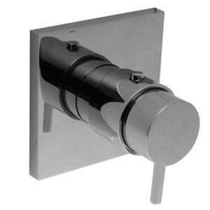 TRES - Termostatická sprchová batéria podomietková s uzáverom a reguláciou prietoku · Vrátane podomietkového telesa (190647)