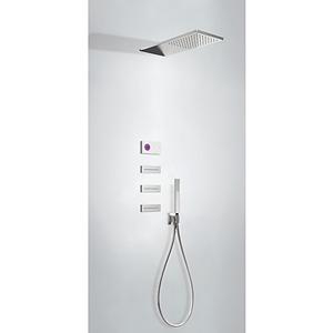 TRES - Termostatický podomietkový elektronický sprchový set SHOWER TECHNOLOGY (09286314)