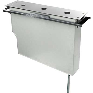 TRES - Set nádrže pro stojánkové vanové baterieSnadná montáž shora. Bez otvorů (Kód: 081.150.01). (189245)