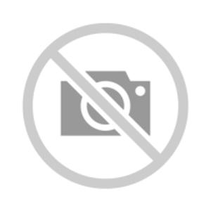 TRES - Vanový sifon s lankem pro řízení odtoku, ozdobné metalové viditelné prvkyO 72 mm CLICK-CLACK (03453420AC)