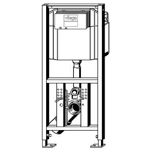 VIEGA s.r.o. - Viega Eco Plus modul pro WC, čelní ovl., mod.8161.95 pro wc se sprchou Duravit (V 699451)
