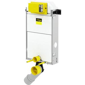 Viega Prevista Pure modul WC-blok 1077 mm, nádrž 3H, přípoj na ventilátor, model 8512.31, čelní ovládání 771959 (V 771959)