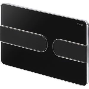 VIEGA s.r.o. - Viega Prevista ovládací deska plast černá RAL9005 Visign for Style 23 model 86131 (V 773199)