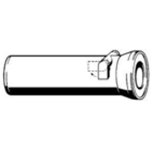 VIEGA - WC připojovací kus přímý 40cm se zpětnou klapkou, bílý DN100, model 3815.5 134969 (V 134969)