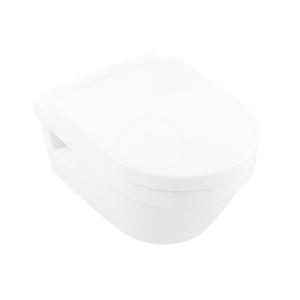 VILLEROY & BOCH - Architectura Závěsné WC, zadní odpad, DirectFlush, AntiBac, alpská bílá (5684R0T1)