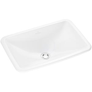 VILLEROY & BOCH - Loop&Friends Bezotvorové umývadlo s prepadom, 600 mm x 405 mm, biele – umývadlo, s prepadom (61450001)
