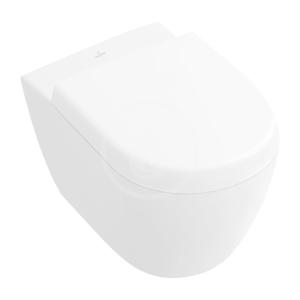 VILLEROY & BOCH - Subway 2.0 Závěsné kompaktní WC, DirectFlush, alpská bílá (5606R001)