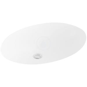 VILLEROY & BOCH - Evana Bezotvorové umývadlo pod dosku, 500x350 mm, s CeramicPlus (614700R1)