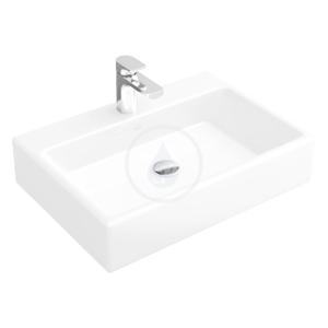 VILLEROY & BOCH - Memento Umývadlo na dosku, 600 mm x 420 mm, biele – bezotvorové umývadlo, s prepadom, s Ceramicplus (513562R1)